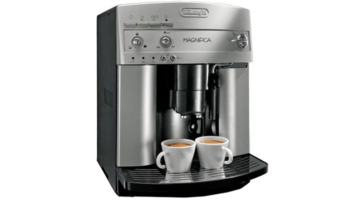 The DeLonghi ESAM3300 Magnifica Super Automatic Coffee and Espresso Machine