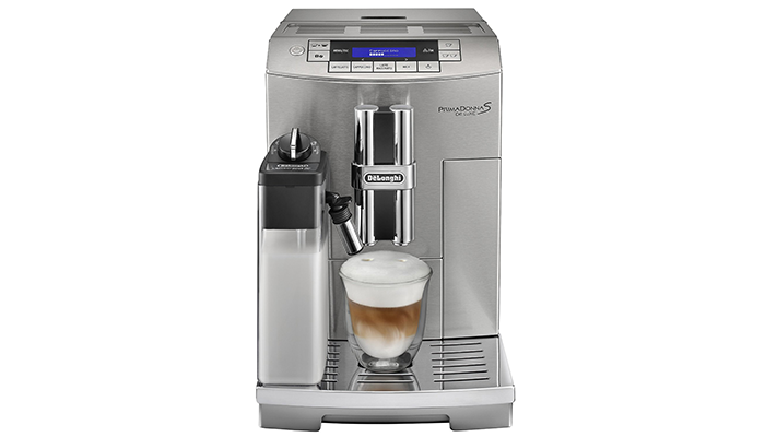 The DeLonghi Prima Donna ECAM 28465M Fully Automated Espresso Maker